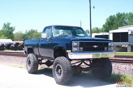chevy short bed 1 ton 4x4 lifted lift GMC monster truck mud rock ...