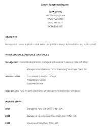 Resume Template Examples Free Sample Resume Template By Things That