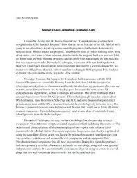Reflective Essay Format Example An Example Of Reflective Essay