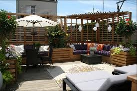 Impressive Modern Patio Decorating Ideas Lofty Apartment The Charming To