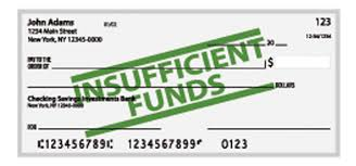 Writing A Insufficient Funds Check
