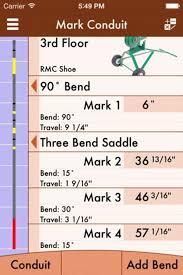 Rigid Conduit Bending Calculator For Iphone Download