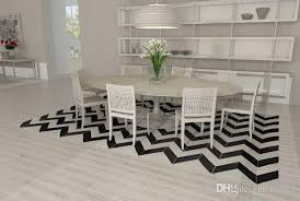 black and white chevron patchwork cowhide rug design genuine leather rug shaws carpet rug dealers from rugfur 803 02 dhgate com