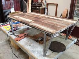 industrial metal and wood furniture. Coffee Table, Metal Wood Table Industrial Custom And Furniture