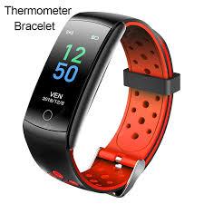 <b>Jeaper</b> Q8T Thermometer <b>Smart Bracelet</b> Men Heart Rate Blood ...