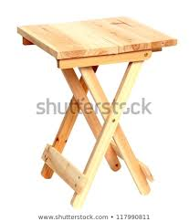Camp Stool Wooden Folding Stool Craftsmanspace Wooden Folding Stool Stock Photo edit Now 117990811 Shutterstock