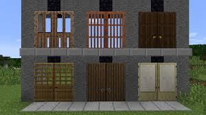 minecraft door. Doors Come In All Six Of The Vanilla Plank Styles, Based On New 1.8 Door Designs. Minecraft O
