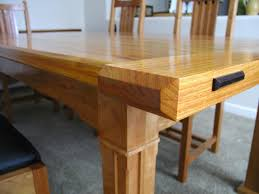 Len S Arts And Crafts Dining Table The Wood Whisperer With Plan 29
