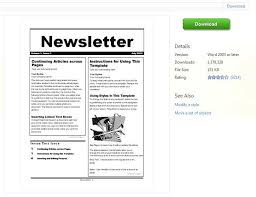 School Newsletter Template For Word School Newsletter Templates For Free Barca Fontanacountryinn Com