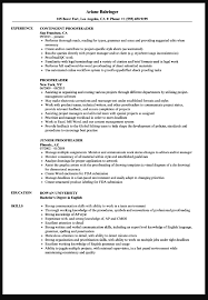 Proofreader Resume Sample Ipasphoto