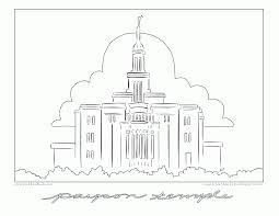 Small Picture Temple Coloring Page Coloring Home