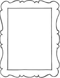 Paper Frames Templates Pin By Michelle Kenney On Printables Fonts Picture Frame