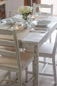 with chalk paint ikea table