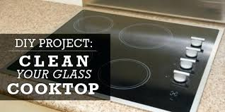 clean glass cooktop best way to clean glass induction cooktop