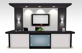 office receptionist desk. chic office furniture reception desk new design and fashion wooden counter receptionist e