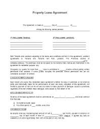Free Lease Rental Agreement Forms Landlord Renters Template ...