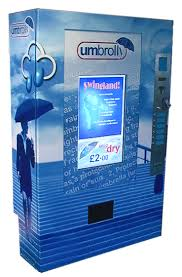 Umbrella Vending Machine London