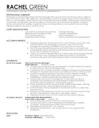 professional international production manager templates to resume templates international production manager