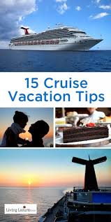 15 cruise vacation tips