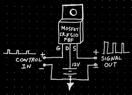 fet diy is a simple fet strobe light