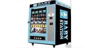 Baby Vending Machine Custom Para Atıp Bebek ürünü Alınıyor Lazım Baby Mantıklı Otomat