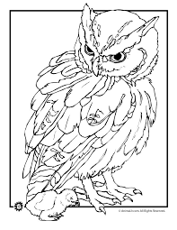 Owl Coloring Pages Free Printables Owl Coloring Pages Realistic