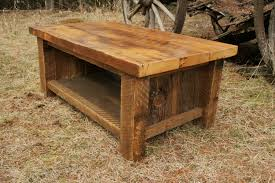 Ebay Wooden Coffee Tables | Rustic Square Coffee Table With Storage |  Barnwood Coffee Table