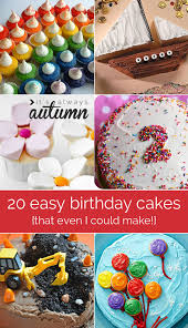 birthday cakes easy to decorate fast fun cute ideas tutorial how to 20 easy to decorate birthday cakes (that even i can't mess up on easy birthday cake tutorial