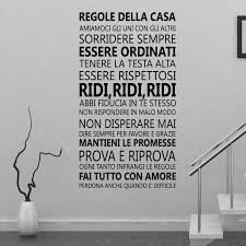 ws8008 italian family quotes  on italian wall art uk with wall stickers uk wall art stickers kitchen wall stickers