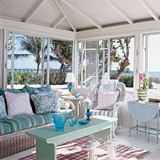Small Picture Beach Style Poolside Preppy Interiors Coastal Living