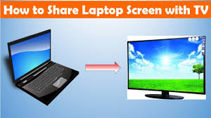 how to share laptop screen smart tv out wire connection how to share laptop screen smart tv out wire connection