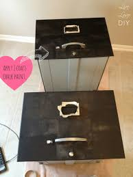 File Cabinet Paint Livelovediy How To Spray Paint A File Cabinet And The Occasional