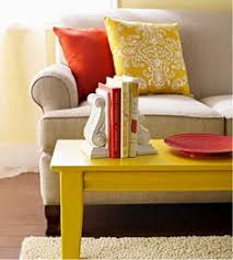 ... Coffee Tables, Painted Coffee Table In Super Bright Color Colored Coffee  And End Tables: ...