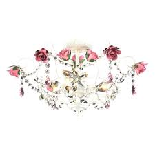 lamp girls mini chandelier flush mount nursery chandelier lighting for teenage girl room light fixtures