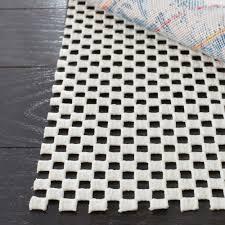 safavieh grid white 2 ft x 14 nonslip rug runner non slip rug r0
