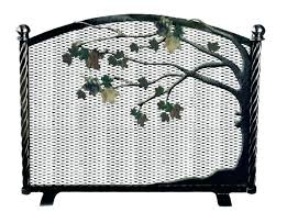 full size of beveled leaded glass fireplace screen pewter antique stained charming scree
