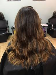 Honey Caramel Brown Hair Balayage For