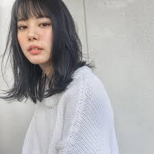 黒髪ミディアム髪型ヘアアレンジ総まとめかわいいをget Arine