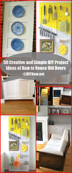 Diy Project 50 Creative And Simple Diy Project Ideas Of How To Reuse Old Doors