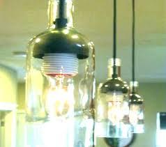 wine bottle hanging lamp kit wine bottle pendant light how to make wine bottle pendant lights