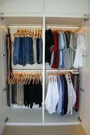 closet double hanging