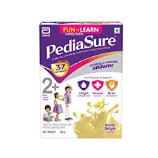 Pediasure Health And Nutrition Drink Powder For Kids Growth 400g Vanilla