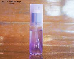 makeup setting spray indian mom on lakme absolute pore fix toner review india