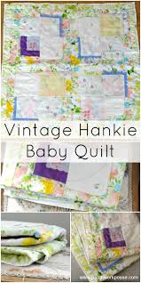 Vintage Hankies Baby Quilt Pattern & vintage hankie and fabric baby quilt pattern Adamdwight.com