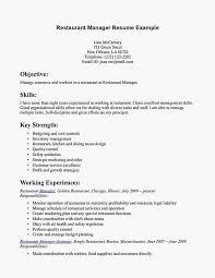 Restaurant Manager Resume Skills Food Service Manager Resume Sample Professional Sample General