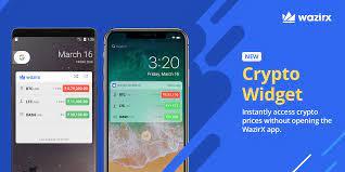 The widget does this by pulling. Wazirx Widget Launch Namaste Tribe We Ve Launched A Wazirx By Wazirx Bitcoin Exchange Wazirx Medium