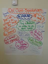The Third Graders All Signed The Classroom Expectations