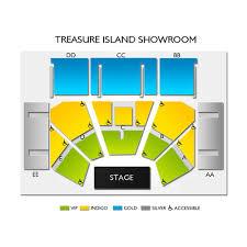 Treasure Island Resort And Casino Welch 2019 Seating Chart