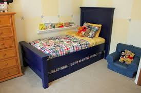 twin farmhouse bed