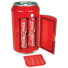 Coca Cola Mini Vending Machine Gorgeous Koolatron Coca Cola 48 Can Portable 48V Mini Fridge For Car Boat Or